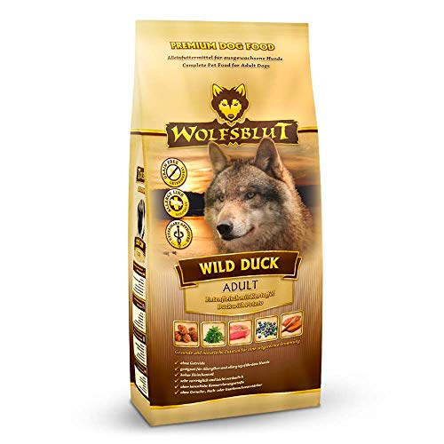 Wolfsblut | Wild Duck Adult | 7,5 kg | Ente | Trockenfutter | Hundefutter | Getreidefrei